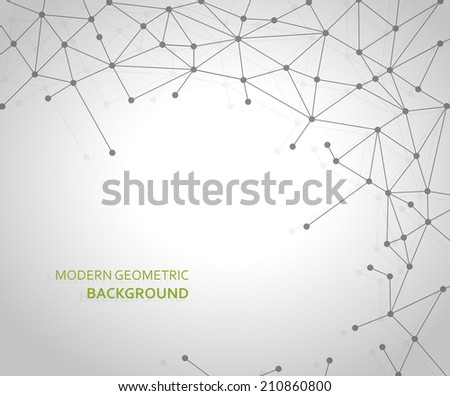 Modern Geometric Background Abstract background. EPS 10 file with transparencies. - stock vector