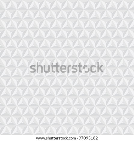 modern geometric 3d background - stock vector