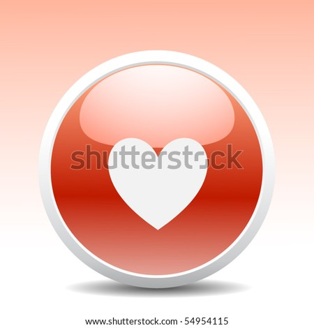Modern heart button