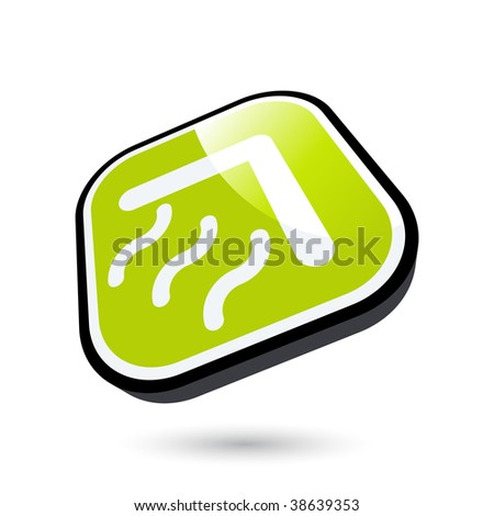 modern home sign - stock vector