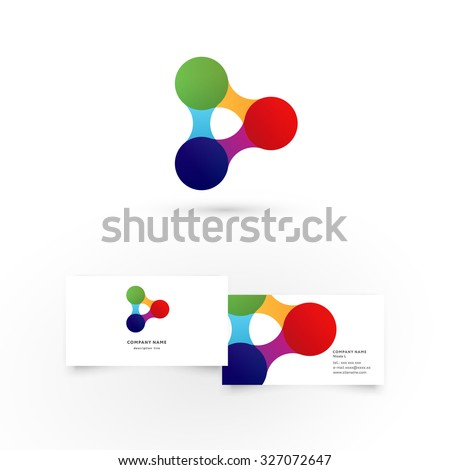 linked stock photos royalty images vectors shutterstock modern icon design logo element business card template best for identity and logotypes