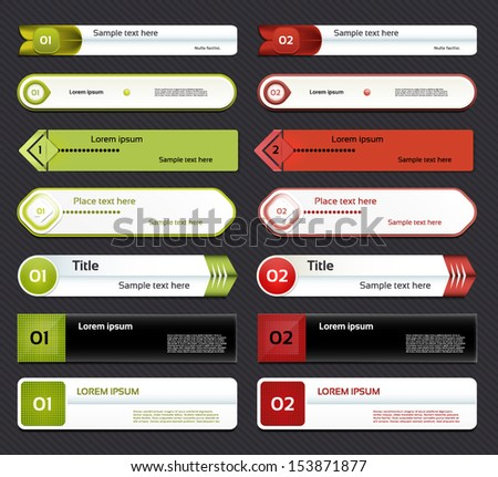 Modern infographics options banner. Vector illustration. can be used for workflow layout, diagram, number options, web design, prints.