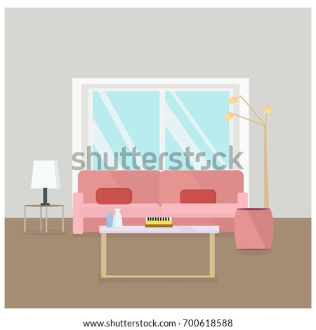 Fashion Item Man Woman Flat Style Stock Vector 696337153 - Shutterstock