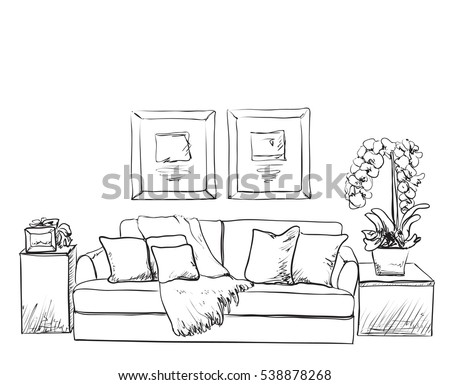 Sketch A Room sketch stock images, royalty-free images & vectors | shutterstock