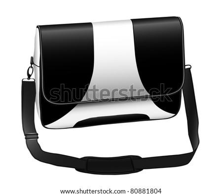 Modern laptop notebook case eps10 - stock vector