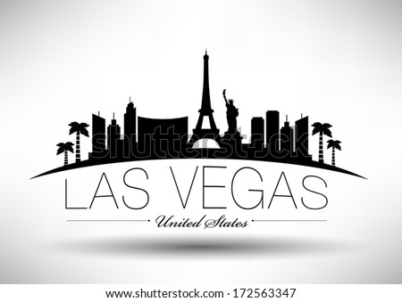 Las Vegas Skyline Stock Images Royalty Free Images