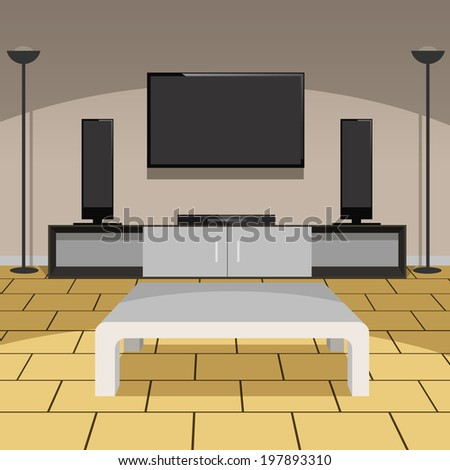 Living Room Cartoons Stock Photos Images Pictures