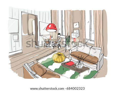Color Sketch Stock Images Royalty Free Images Vectors