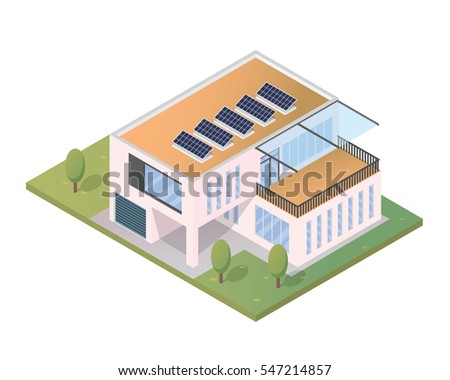 Eco Friendly House Diagram Stock Images, Royalty-Free Images ...