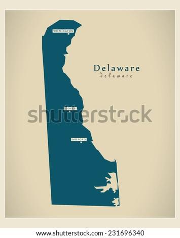 Delaware State Map Stock Images RoyaltyFree Images Vectors - Delaware map usa