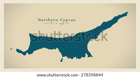 Cyprus Map Stock Images RoyaltyFree Images Vectors Shutterstock - Map of northern cyprus in english