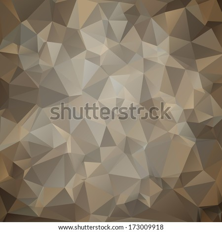 Modern military camouflage background (desert storm, sand color) made of geometric shapes - stock vector