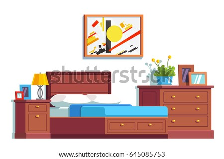 Bedside table clipart  Bedside Table Stock Images, Royalty-Free Images & Vectors ...