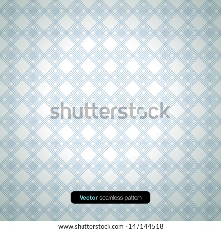Modern Pattern Illustration. Vector background. - stock vector