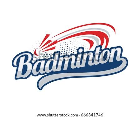 Modern Professional Isolated Sports Badge Logo Stock