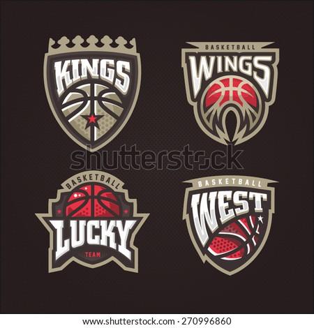 basketball logo stock images royaltyfree images