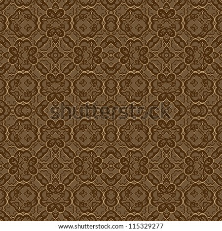 modern seamless floral pattern as a background/Seamless pattern can be used for wallpaper, pattern fills, web page background,surface textures. Gorgeous seamless wave background