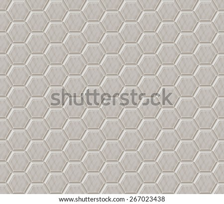 Modern seamless wallpaper pattern. hexagon. vector illustration - stock vector