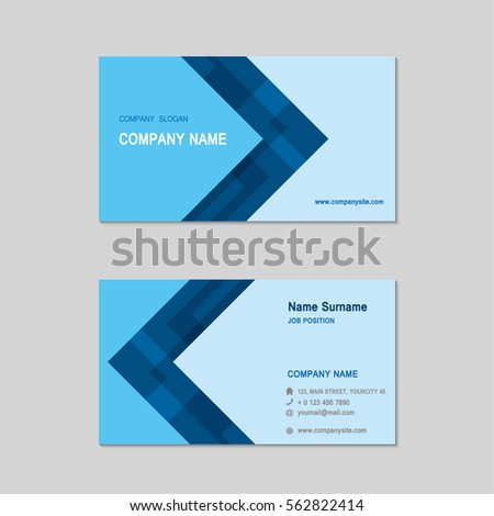 Simple business card design radiotodorock simple business card with geometric shapes psd file free download colourmoves