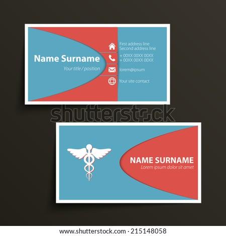 Doctor Business Card Stock Images RoyaltyFree Images Vectors