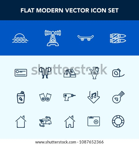 modern simple vector icon set payment stock vector 1087652366
