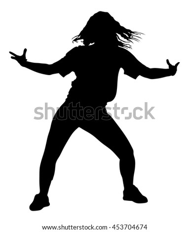 how to dance hip hop white lady