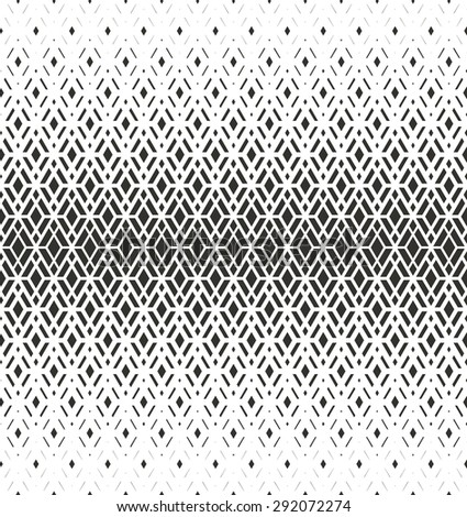 Modern stylish texture with rhombus. Vector seamless pattern. Repeating geometric tiles. White and gray texture - stock vector
