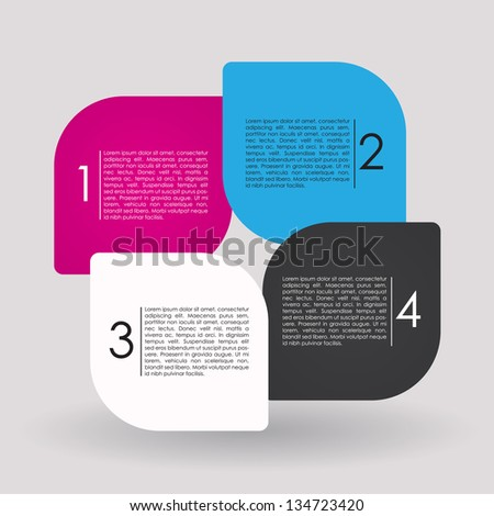 Modern Vector Design Layout
