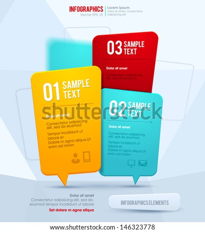 Modern vector design template - stock vector