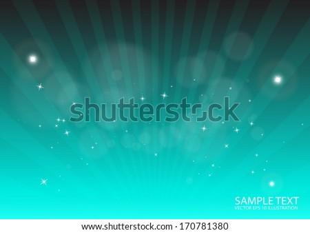 Modern vector rays spreading background burst illustration - Vector background web template illustration  - stock vector