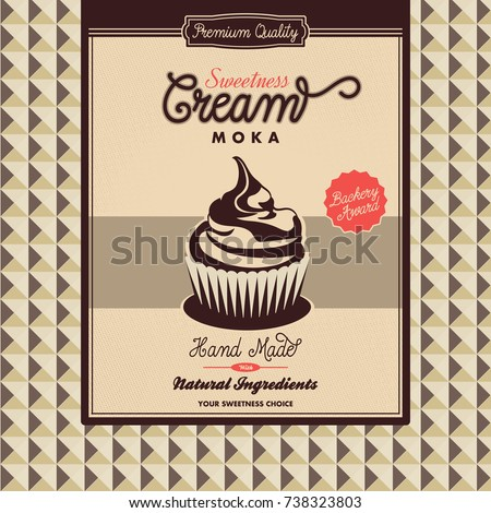 Great Bakery Brochure Template Pictures Moka Cupcakes Template