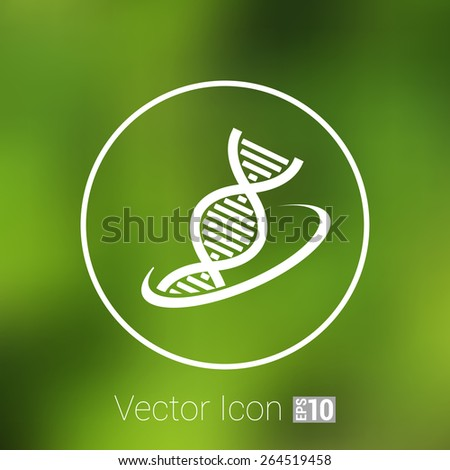 Molecular compound vector icon icon chemistry chemistry - stock vector