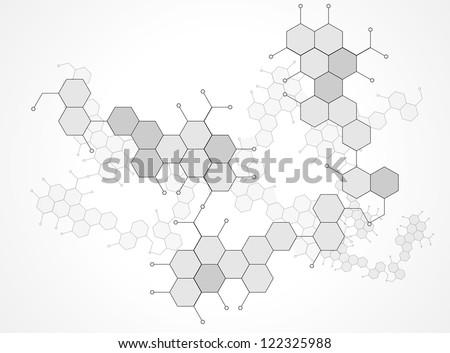 Molecular Medicine chromosome vector. - stock vector