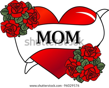 Mom Tattoo Stock Photos, Images, & Pictures   Shutterstock