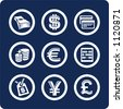 """Money and Finance (p.2). To see all icons, search by keywords: """"agb-vector"""" or """"agb-raster"""" - stock vector"""