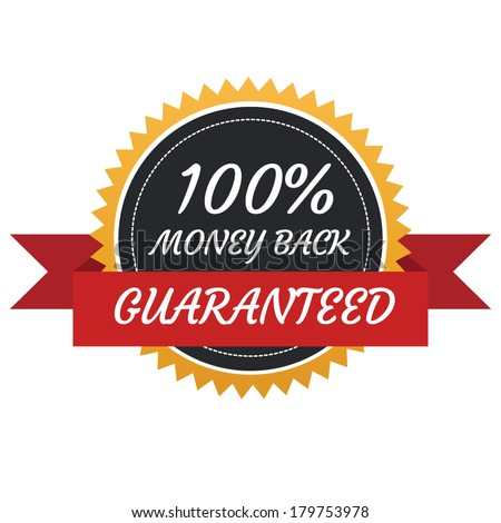 Money Back Badge - stock vector