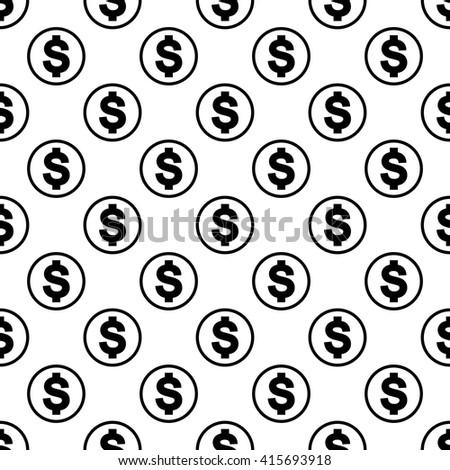 Money background black. Money background modern. Money background monochrome. Money background trendy. Money background seamless. Money background simple. Money background for web - stock vector