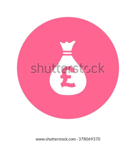 Money Bag Icon Pound Gbp Currency Stock Vector 378069370 Shutterstock