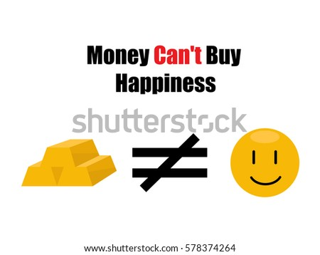 Why money can't buy you happiness