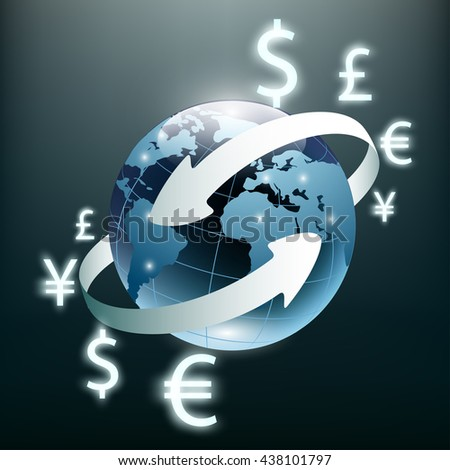 Image result for global visualization of our electronic stock exchanges on planet earth