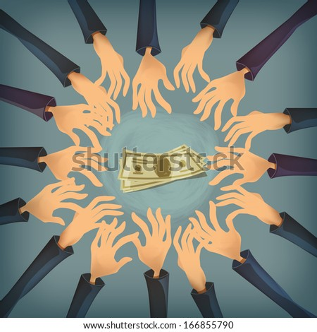 Money. Vector format - stock vector