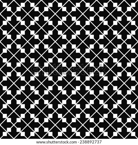 Monochromatic repeating arrow pattern design