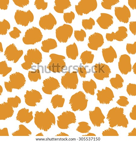 Monochrome animal seamless pattern in gold and white colors. Contrast and modern background. Can be used for wallpaper, web page backgrounds and textile industry  - stock vector