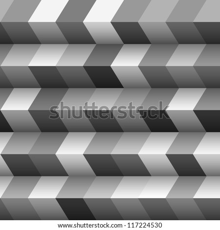 Monochrome geometric structured background.Vector eps10 - stock vector