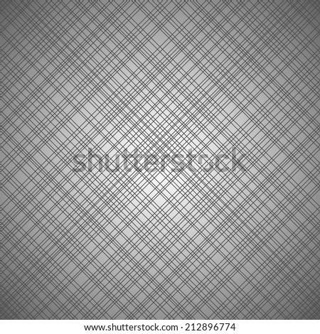 Monochrome seamless pattern with cross lines