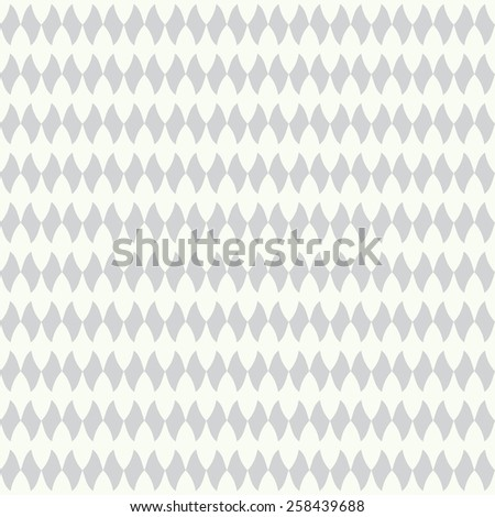 Monochrome seamless pattern with diamonds. Vector illustration - stock vector