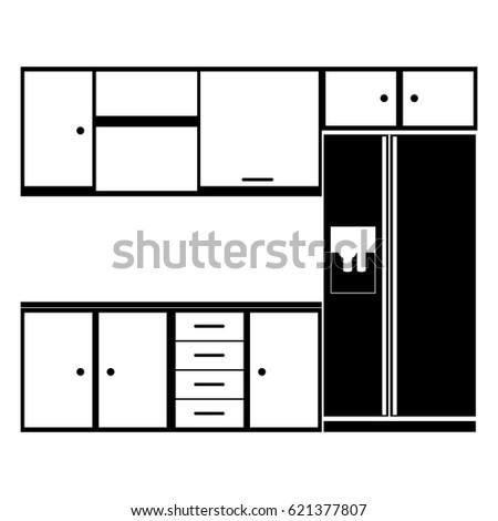 Kitchen Cabinet Handles Stock Vectors, Images & Vector Art ...
