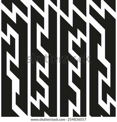 monochrome tech seamless pattern