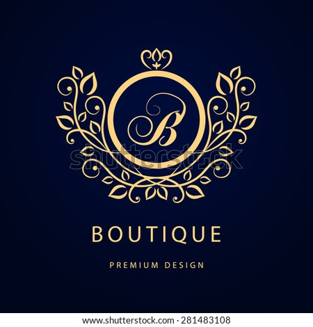 Boutique Logo Stock Images, Royalty-Free Images & Vectors ...
