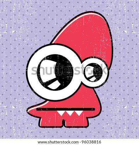 Monster Stock Vector 96038816 Shutterstock